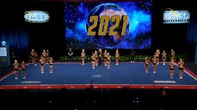 ACE Cheer Company - BHM - Warriors [2021 L6 Senior Medium Coed Semis] 2021 The Cheerleading Worlds
