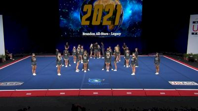 Brandon All-Stars - Legacy [2021 L6 International Open Coed Non Tumbling Finals] 2021 The Cheerleading Worlds