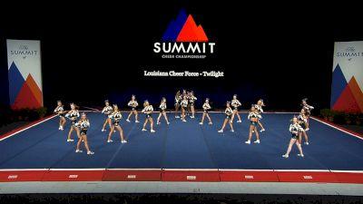 Louisiana Cheer Force - Twilight [2021 L4 International Open Prelims] 2021 The Summit