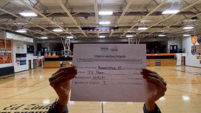 Beavercreek High School [Junior Varsity - Pom] 2021 UDA Spirit of the Midwest Virtual Challenge