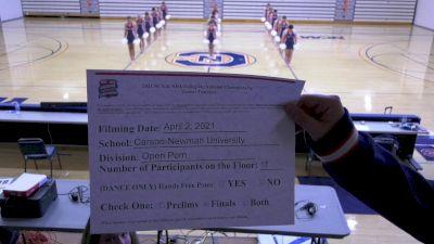 Carson-Newman University [Virtual Open Pom Finals] 2021 NCA & NDA Collegiate Cheer & Dance Championship