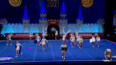 Brentwood High School [2021 Medium Varsity Division I Finals] 2021 UCA National High School Cheerleading Championship