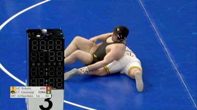 285 3rd place, Anthony Cassioppi, Iowa vs Cohlton Schultz, ASU