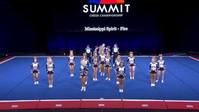 Mississippi Spirit - Fire [2021 L4 Senior Coed - Small Wild Card] 2021 The Summit