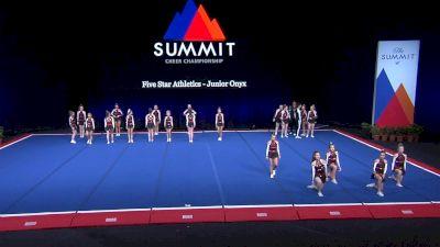 Five Star Athletics - Junior Onyx [2021 L4 U17 Coed Prelims] 2021 The Summit