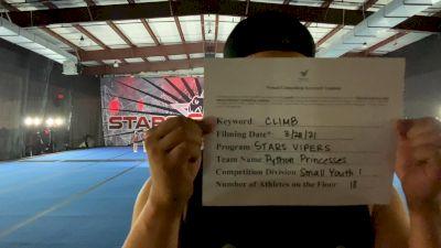 Stars Vipers - Stars Vipers San Antonio - Python Princesses [L1 Youth - Small] 2021 The Regional Summit Virtual Championships