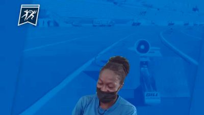 Air Force's Mahala Norris After Her Upset Victory In The 3K Steeplechase