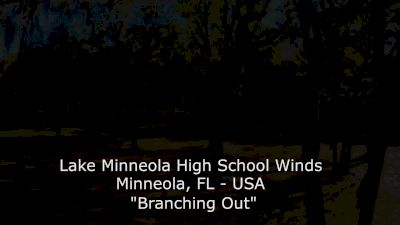 """Lake Minneola HS Winds - """"Branching Out"""""""