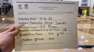 Oakville High School [Junior Varsity - Pom Virtual Finals] 2021 NDA High School National Championship