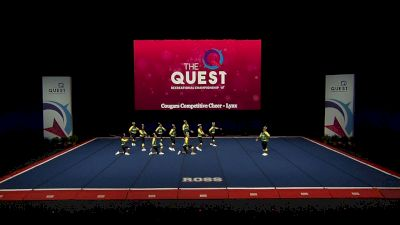 Cougars Competitive Cheer - Lynx [2021 L4 Performance Rec - 8-18 Years (NON) Semis] 2021 The Quest
