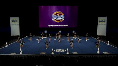 Spring Station Middle School [2021 Junior High Non Tumbling Semis] 2021 UCA National High School Cheerleading Championship