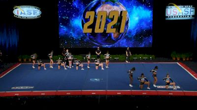 Bluegrass Athletics - Code Blue [2021 L6 Senior XSmall Coed Prelims] 2021 The Cheerleading Worlds