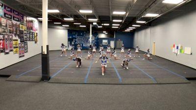 Cheer Advantage All Stars - Topaz [L3 Junior - D2 - Small] 2021 Athletic Championships: Virtual DI & DII