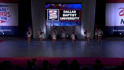 Dallas Baptist University Patriettes [2021 Pom Open Prelims] 2021 NCA & NDA Collegiate Cheer & Dance Championship