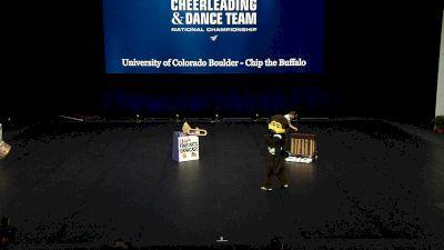University of Colorado Boulder - Chip the Buffalo [2021 Mascot Semis] 2021 UCA & UDA College Cheerleading & Dance Team National Championship