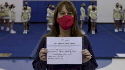 Butler Area High School [Small Varsity Coed] 2020 UCA Miami Valley Virtual Regional