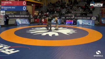 57 kg Bronze - Vito Arujau, USA vs Beka Bujiashvili, Georgia