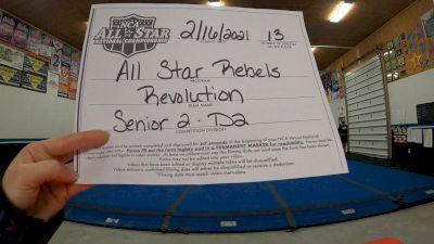 All Star Rebels - Revolution [L2 Senior - D2 - Small] 2021 NCA All-Star Virtual National Championship
