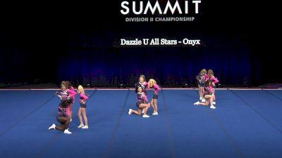Dazzle U All Stars - Onyx [2021 L3 Junior - Small Finals] 2021 The D2 Summit
