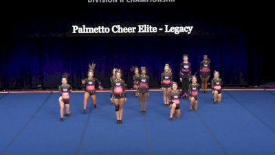 Palmetto Cheer Elite - Legacy [2021 L2 Senior - Small Wild Card] 2021 The D2 Summit