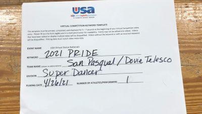 San Pasqual High School [Open - Solo Finals] 2021 USA Spirit & Dance Virtual National Championships