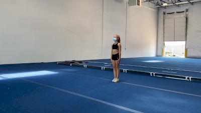 Brianna Lauer - Running Tumbling [Level 3 - Week 1] 2020 Varsity TV Level Legacy Challenge