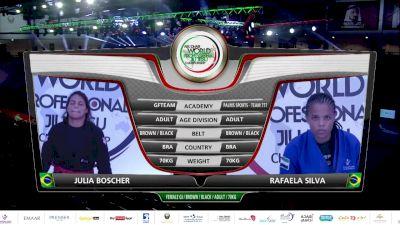 Julia Boscher vs Rafaela Silva 2020 Abu Dhabi World Pro
