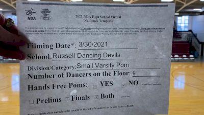 Russell High School [Virtual Small Varsity - Pom Finals] 2021 NDA National Championship