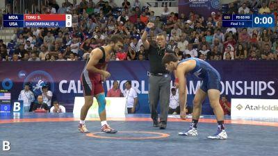 63kg Gold - Yianni Diakomihalis, USA vs Stefan Tonu, MDA