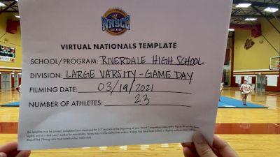 Riverdale High School [Virtual Large Varsity - Game Day Finals] 2021 UCA National High School Cheerleading Championship