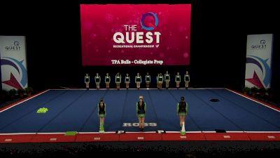 TPA Bulls - Collegiate Prep [2021 Open Traditional Rec - 18Y (NON) Semis] 2021 The Quest