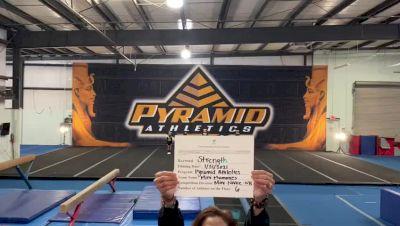 Pyramid Athletics - Mini Mummies [Exhibition (Cheer)] 2021 Varsity All Star Winter Virtual Competition Series: Event II