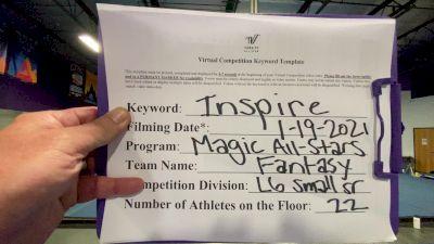 Magic All Stars - Fantasy [L6 Senior - Small] 2021 GSSA DI & DII Virtual Championship
