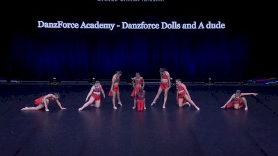 DanzForce Academy - Danzforce Dolls and A dude [2021 Youth Contemporary / Lyrical - Small Semis] 2021 The Dance Summit