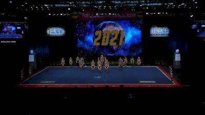 Rockstar Cheer - Beatles [2021 L6 Senior Open Small Coed Finals] 2021 The Cheerleading Worlds