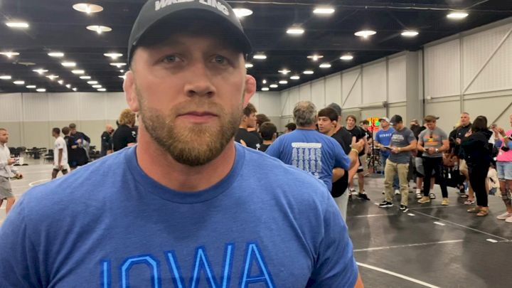 Ryan Morningstar Reflects On Iowa's Stellar Performance at Freestyle National Duals