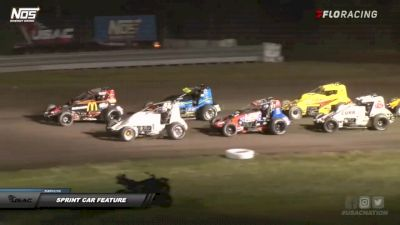 Sprint Car Highlights | IMW at Gas City Speedway