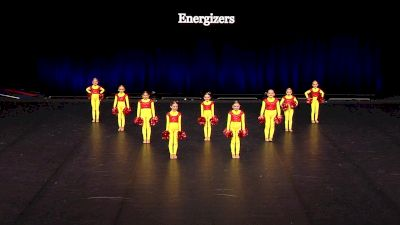 Energizers [2021 Tiny Pom Finals] 2021 The Dance Summit