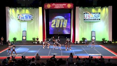 Central Jersey All Stars - Bombshells [2019 L5 Senior X-Small Finals] 2019 The Cheerleading Worlds