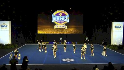 Burlington Township Middle School [2020 Junior High Non Tumbling Finals] 2020 UCA National High School Cheerleading Championship