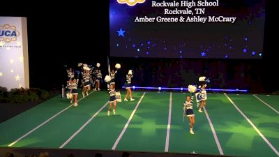 Rockvale High School [2020 Large Non Tumbling Game Day Finals] 2020 UCA National High School Cheerleading Championship