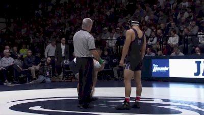 149 lbs Jarod Verkleeren (Penn State) vs Eric Yang (Northwestern)