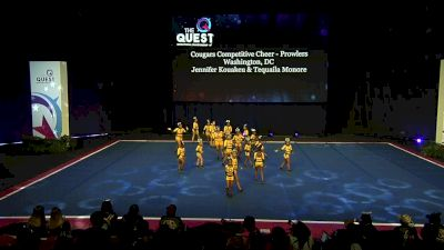 Cougars Competitive Cheer - Prowlers [2020 L1 Performance Rec - Non-Affiliated (12Y - Small)] 2020 The Quest