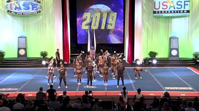 The California All Stars - Camarillo - TeamRECKLESS [2019 L6 International Open Small Coed Finals] 2019 The Cheerleading Worlds