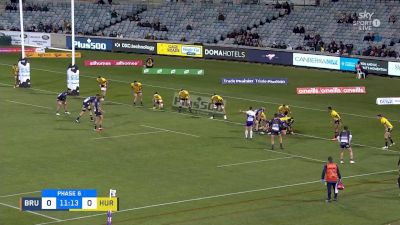 Ryan Lonergan with a Try vs Hurricanes