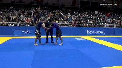DOMINIC MEJIA vs JOSHUA LUKE TERAO 2021 World IBJJF Jiu-Jitsu No-Gi Championship