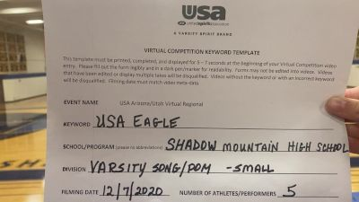 Shadow Mountain High School [Varsity Song/Pom Intermediate] 2020 USA Arizona & Utah Virtual Regional