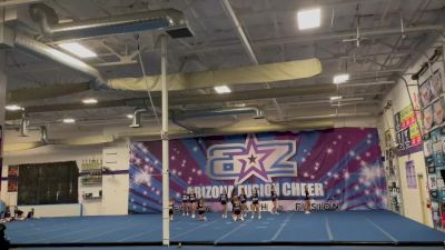 Arizona Fusion Cheer - Black Out [L5 Senior Open] 2021 Varsity All Star Winter Virtual Competition Series: Event II