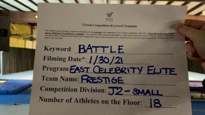East Celebrity Elite Prestige - Londonderry Prestige [L2 Junior - Small] 2021MG Extravaganza Virtual Nationals