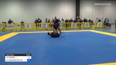 David Garmo Chains Guillotines And Darces At No-Gi Pans